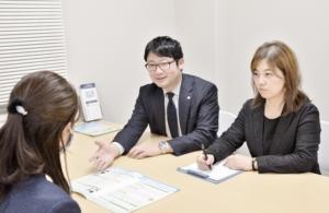 札幌遺産相続手続き専門代行所 相談風景